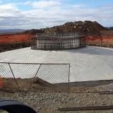 Base-in-concrete